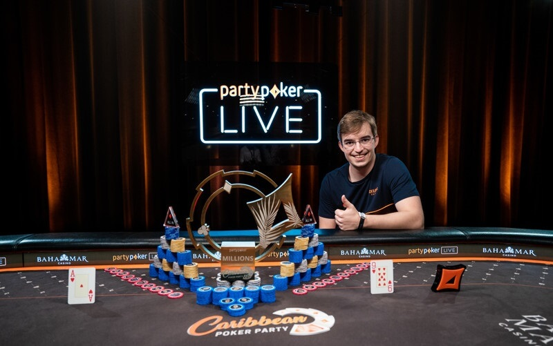 Филлипе Оливейра выиграл Caribbean Poker Party