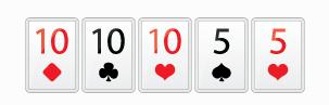 Full House | Фул Хаус - Комбинация в покере