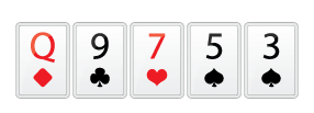 High Card | Старшая карта - Комбинация в покер