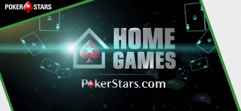 «HOME GAMES» от PokerStars
